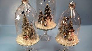 getlinkyoutube.com-Recycled Soda Bottles Christmas Dome ~ Miriam Joy