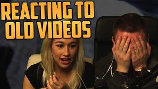 getlinkyoutube.com-REACTING TO OLD VIDEOS #1