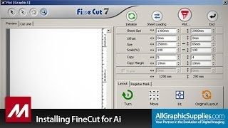 Installing Mimaki FineCut for Illustrator on Windows