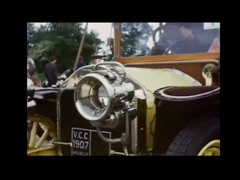 Vintage Cars 1968 at Beaulieu and the driving test.A David Roscoe film.