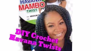 "getlinkyoutube.com-Crochet Havana Mambo Twists 12"" | *short bob*"