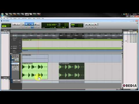 Pro Tools - how to nudge audio region to next