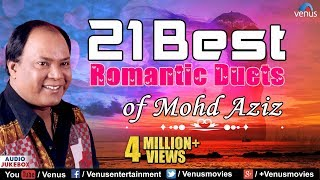 getlinkyoutube.com-Best Of Mohd Aziz   Top 21 Best Romantic Duets   Evergreen Love Songs - Audio Jukebox