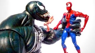 getlinkyoutube.com-Marvel Legends Dark Avengers VENOM Custom Action Figure