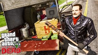 getlinkyoutube.com-THE WALKING DEAD #16 UN RAVITAILLEMENT QUI TOURNE MAL ! (GTA 5 MODS)