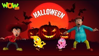 Halloween Special Video   Cartoon animation for kids    Only on WowKidz   width=