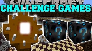 Minecraft: GIANT WORM CHALLENGE GAMES - Lucky Block Mod - Modded Mini-Game