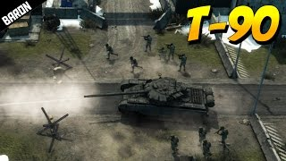 getlinkyoutube.com-T-90 Russian Main Battle Tank - Warfare Online Gameplay