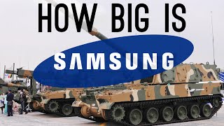 getlinkyoutube.com-How BIG is Samsung? (They Have a Military Department!)