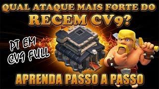 getlinkyoutube.com-Aprenda os detalhes do ATAQUE MAIS FORTE DO RECÉM CV9!!! PT CV9 Full  Heróis Fracos!!!