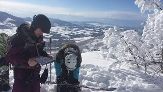 Sunny Powder Day Snowboarding In Rusutsu, Japan | 4K