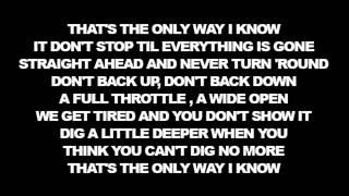 [Lyrics] Jason Aldean - The Only Way I Know ft Luke Bryan & Eric Church