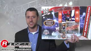 getlinkyoutube.com-WWE Raw Superstar Entrance Stage by Mattel Toy Wrestling Action Figure Playset