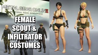getlinkyoutube.com-Female Scout & Infiltrator Costumes - Metal Gear Online