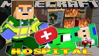 getlinkyoutube.com-Minecraft Hospital - Little Donny Adventures - MOTORBIKE CRASH!!!