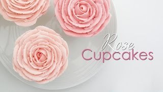 Rose Cupcake - Piping Technique Tutorial