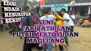 getlinkyoutube.com-Seni Tari Jathilan putri - Ndadi (Kesurupan) - Mertoyudan Magelang - seru !!!