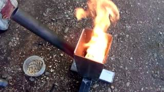 getlinkyoutube.com-Pellet burner