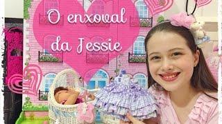 getlinkyoutube.com-O Enxoval da minha Baby Alive Hora de Comer Jessie Julia Silva