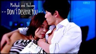"getlinkyoutube.com-MinHyuk and YooJung ""Don't Deserve You"" --Secret"