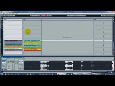 Warping Tracks in Ableton Live, for DJ'ing