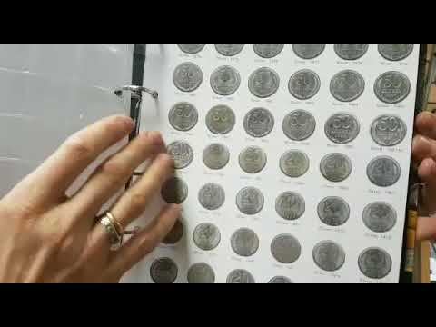 Альбом Монеты СССР регулярного выпуска 1961-1991