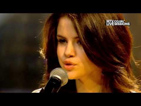 (HD) Selena Gomez &amp; the Scene - Naturally (MTV Session)  Live Session Video (HD)
