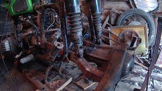 getlinkyoutube.com-Трицикл из Днепра своими руками (2 часть)