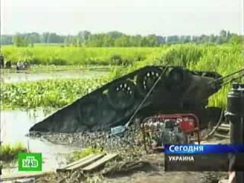 Подъем танка Т - 34 в Черкасской области