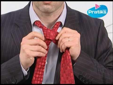 Cómo hatar una corbata