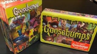 getlinkyoutube.com-Goosebumps Book Sets Retro Scream Collection and Limited Edition Collectible Tin 2015