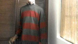getlinkyoutube.com-my freddy krueger costume