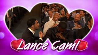 getlinkyoutube.com-Lance Stephenson Double Kiss Cam  ESPYS Award 2014