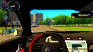 getlinkyoutube.com-City Car Driving - Toyota Camry 2007 - Logitech G27