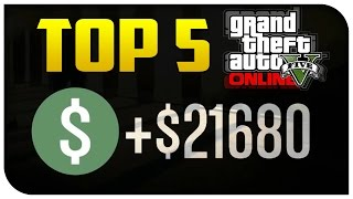 "getlinkyoutube.com-Top 5 Ways to ""Make Money"" in GTA 5 Online! (Best & Most Fun) [GTA V]"