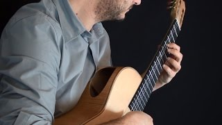 Spanish Romance (with extra notes) on Classical Guitar