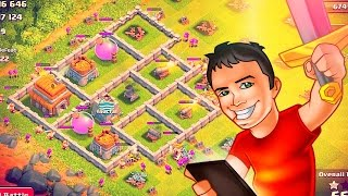 getlinkyoutube.com-Town Hall 6 Farm Up To MAX! Clash of Clans!