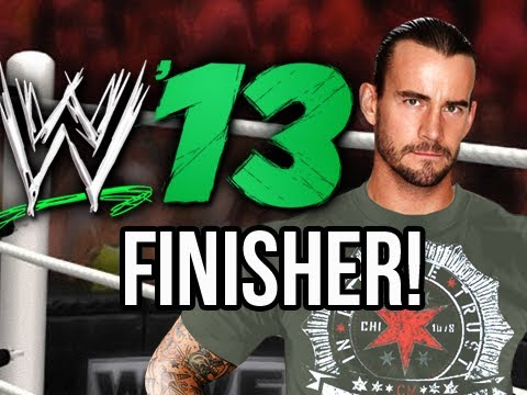 WWE 13 - CM Punk's GTS FINISHER (WWE 13 Official Gameplay)