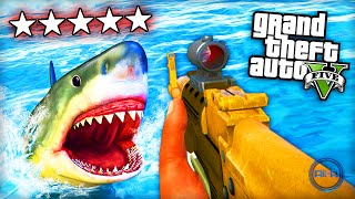 "getlinkyoutube.com-GTA 5 Funny Moments - ""SHARK ATTACK!"" - (Grand Theft Auto V PS4 Gameplay)"