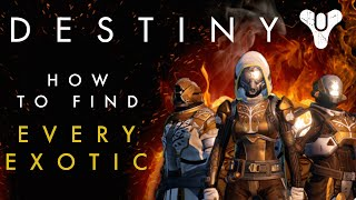 getlinkyoutube.com-Destiny - How to find all the Exotic Weapons