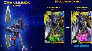 Digimon Heroes   Craniummon SP EVENT!