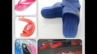 getlinkyoutube.com-Slipper & Sandal Air Blowing Machine (XGC-124H)