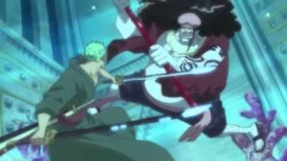 getlinkyoutube.com-Zoro vs Hody Jones - Full Fight - HD - One Piece - (English Sub.)