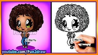 How To Draw A Girl - Tip Home - Fun2draw