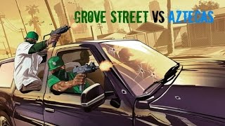 "getlinkyoutube.com-GTA 5 - ""Grove Street Vs Aztecas!"""