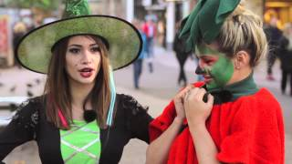 getlinkyoutube.com-Halloween Prank (Mit Shirin David)