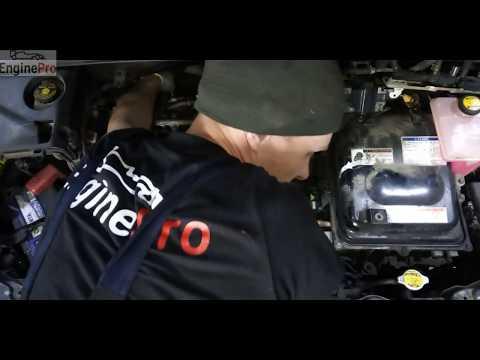 Расположение клапанной крышки в Lexus RX400h