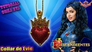 getlinkyoutube.com-♥ Tutorial: Collar de Evie de Los Descendientes de Goma Eva (Foamy) ♥