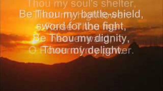 getlinkyoutube.com-Be thou my vision - (with lyrics)