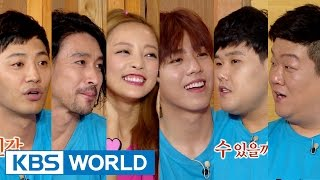 getlinkyoutube.com-Happy Together - Gu Hara, Jin Goo, Lee Hyunwoo & more! (2015.07.02)
